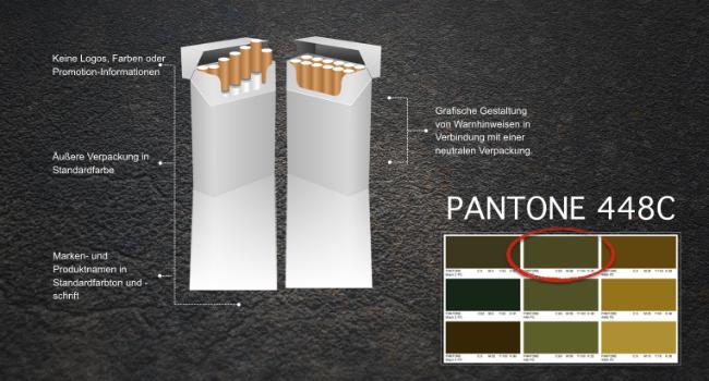 Die hässlichste Farbe der Welt - Pantone 448C